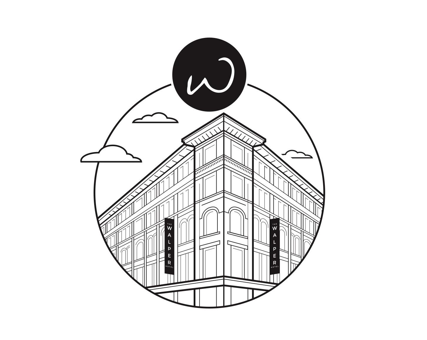 the walper hotel illustration