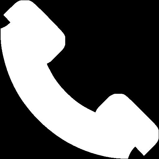 white landline icon