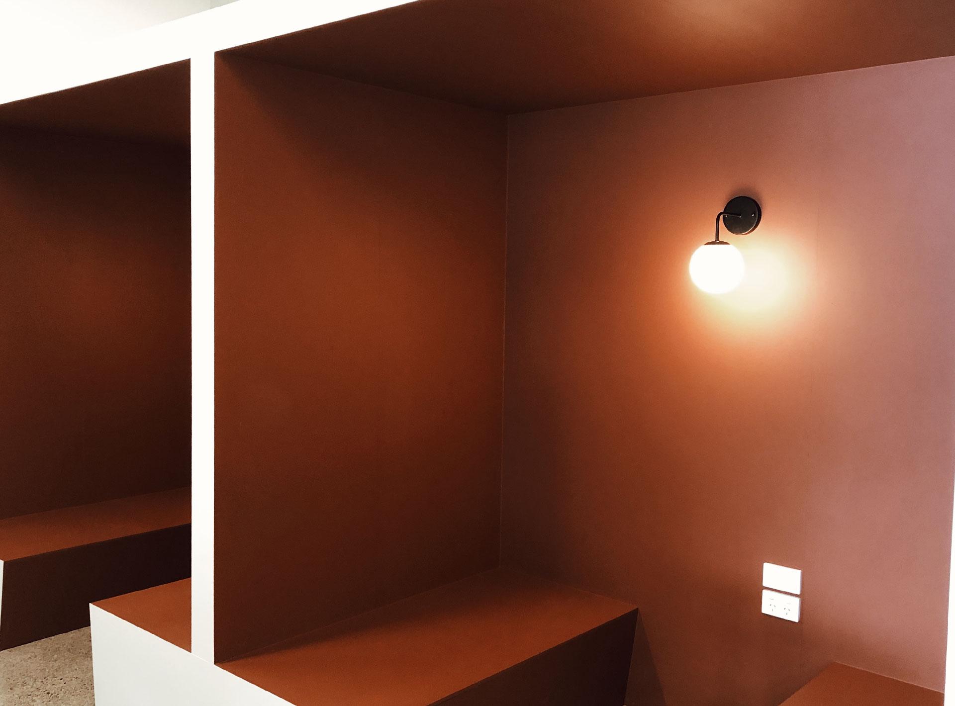 attraction studio workspace pods