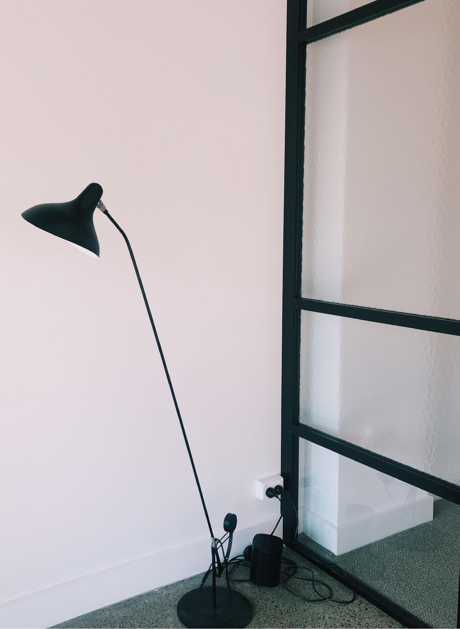 attraction studio workspace lamp