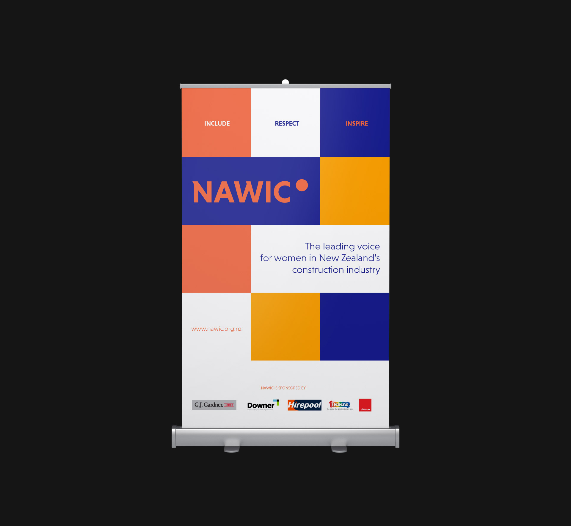 nawic pop up banner
