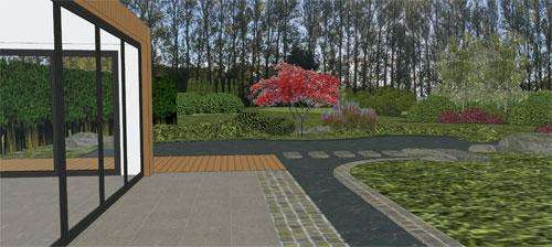 Large Outdoor Living and Entertainment Space with Waterfeatures and Gardens, East Farleigh