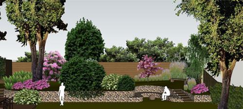 Contemporary Woodland Garden, Chislehurst