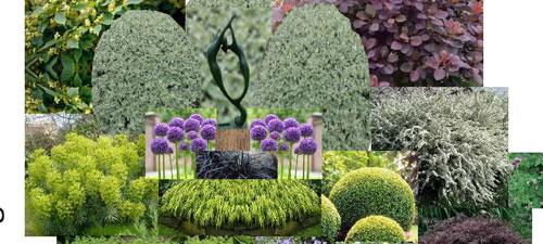 Planting Scheme for Sculpture Garden