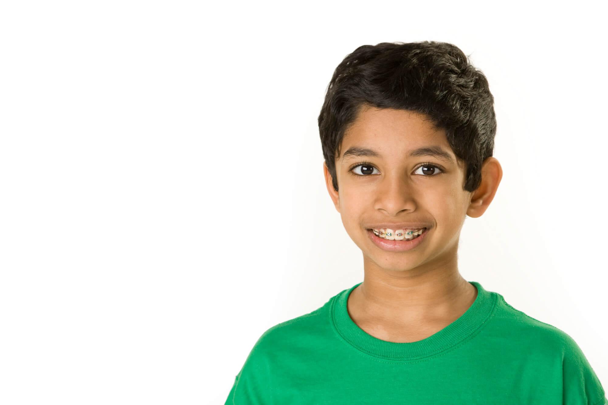 boy with braces in tamarac
