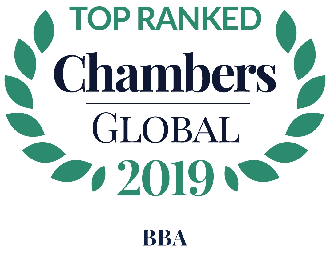 BBA//FJELDCO is ranked as a leading law firm in Iceland by Chambers Global 2019