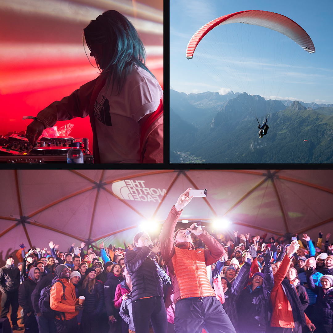 DJ and event highlights at the mountain festival experience.
