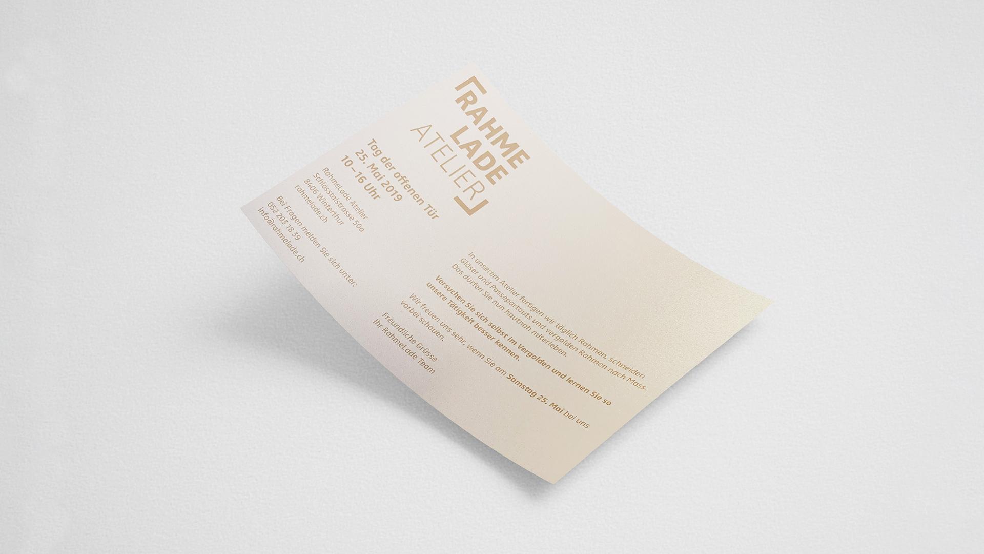 Flyer, Branding, Mailing
