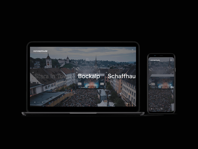 Konzeptbude, Branding, Responsive Webdesign