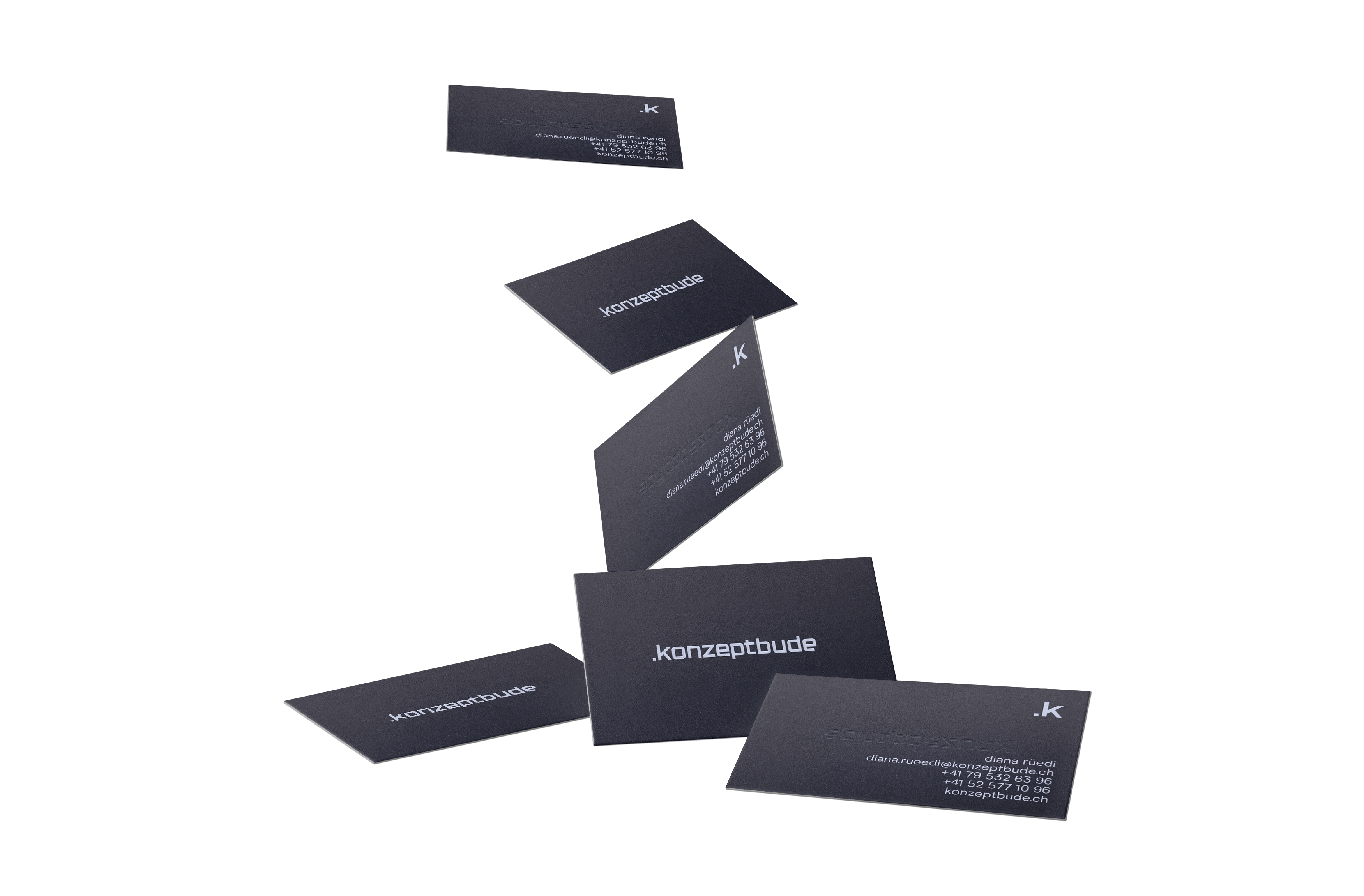 Konzeptbude, Branding, Schaffhausen, Format Studio, Visitenkarten