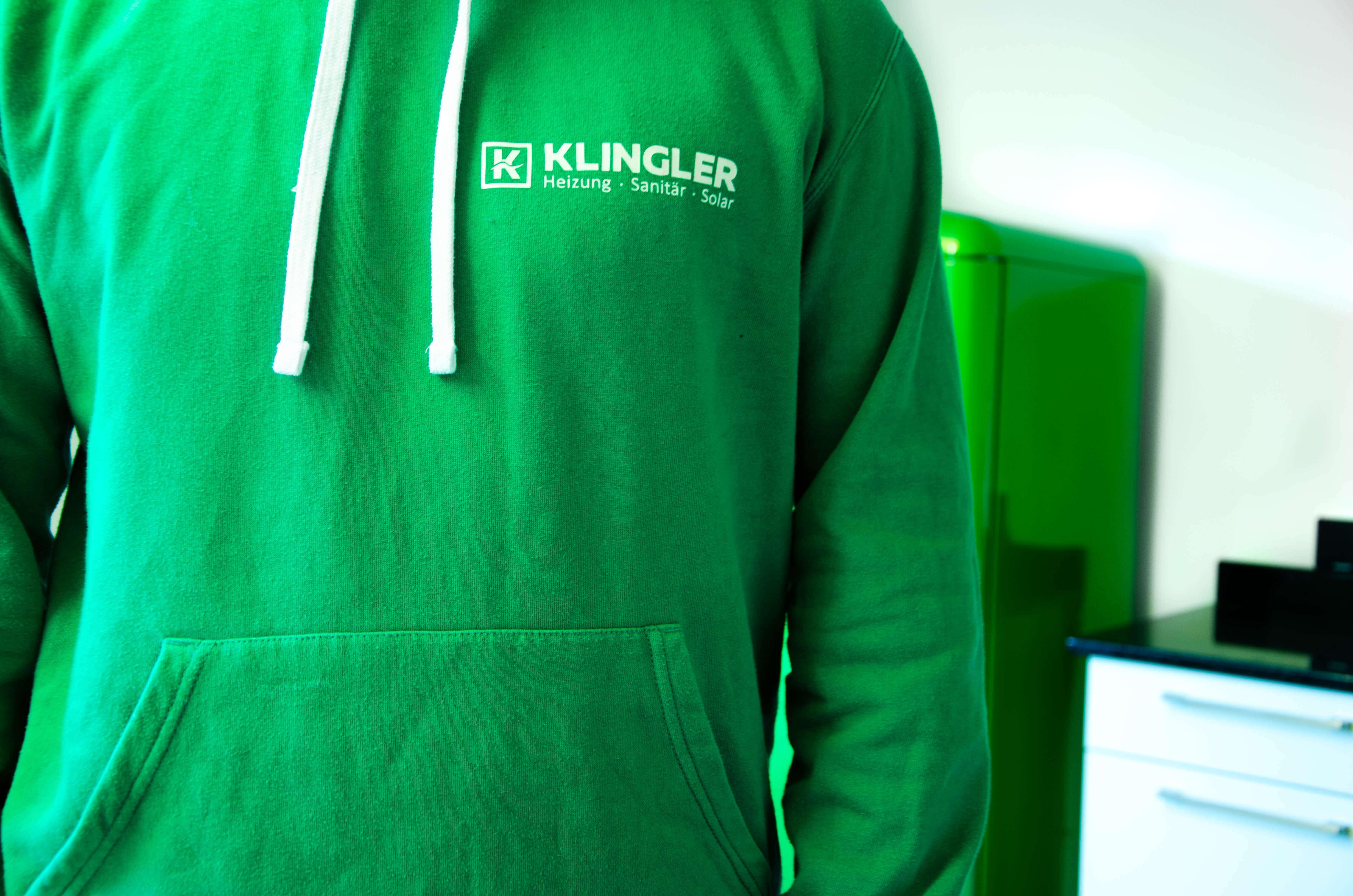 Klingler, Mitarbeiterbekleidung, Merchandise, Branding, Logo