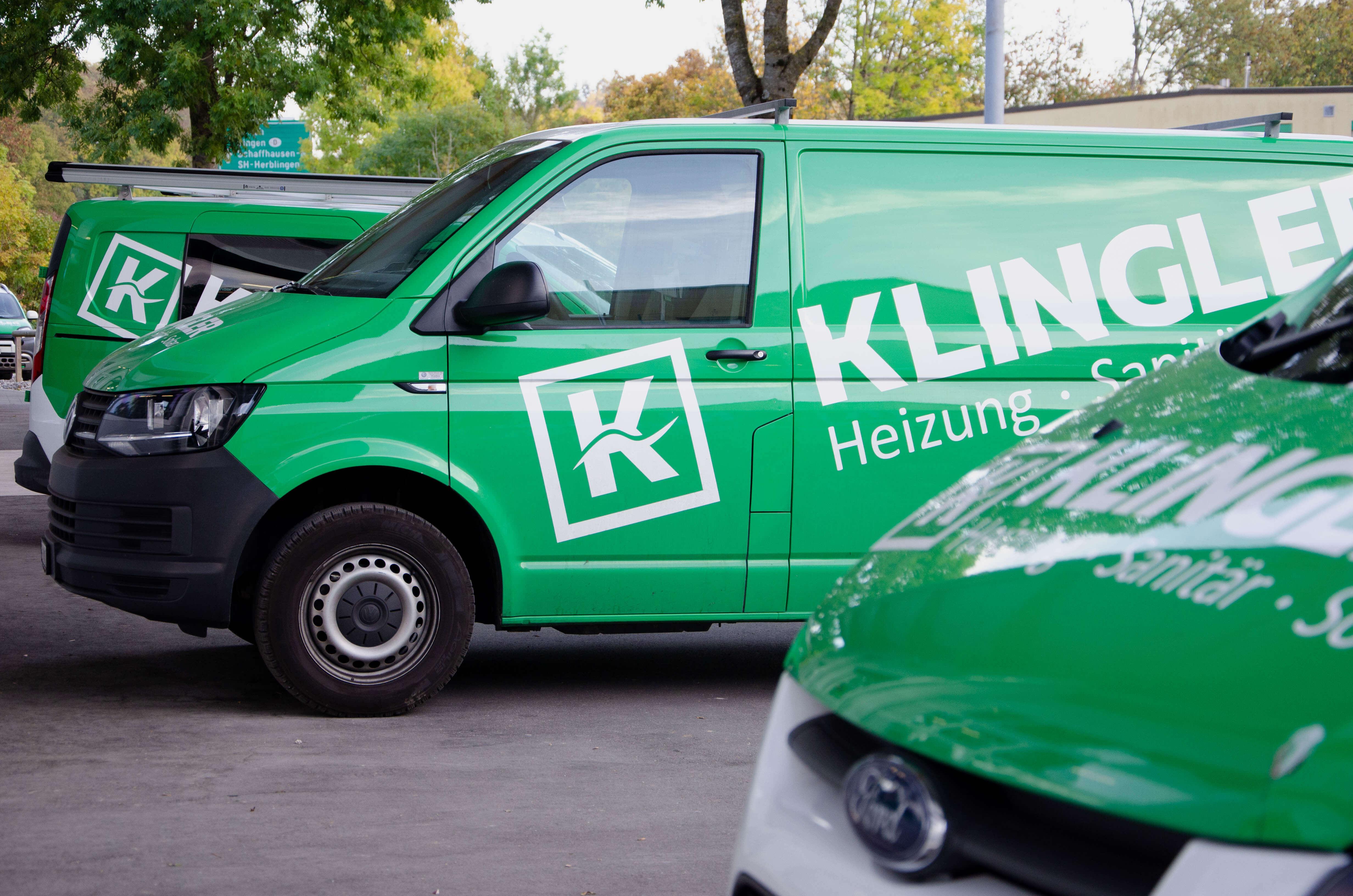 Klingler, Logo, Branding, Fahrzeugbeschriftung