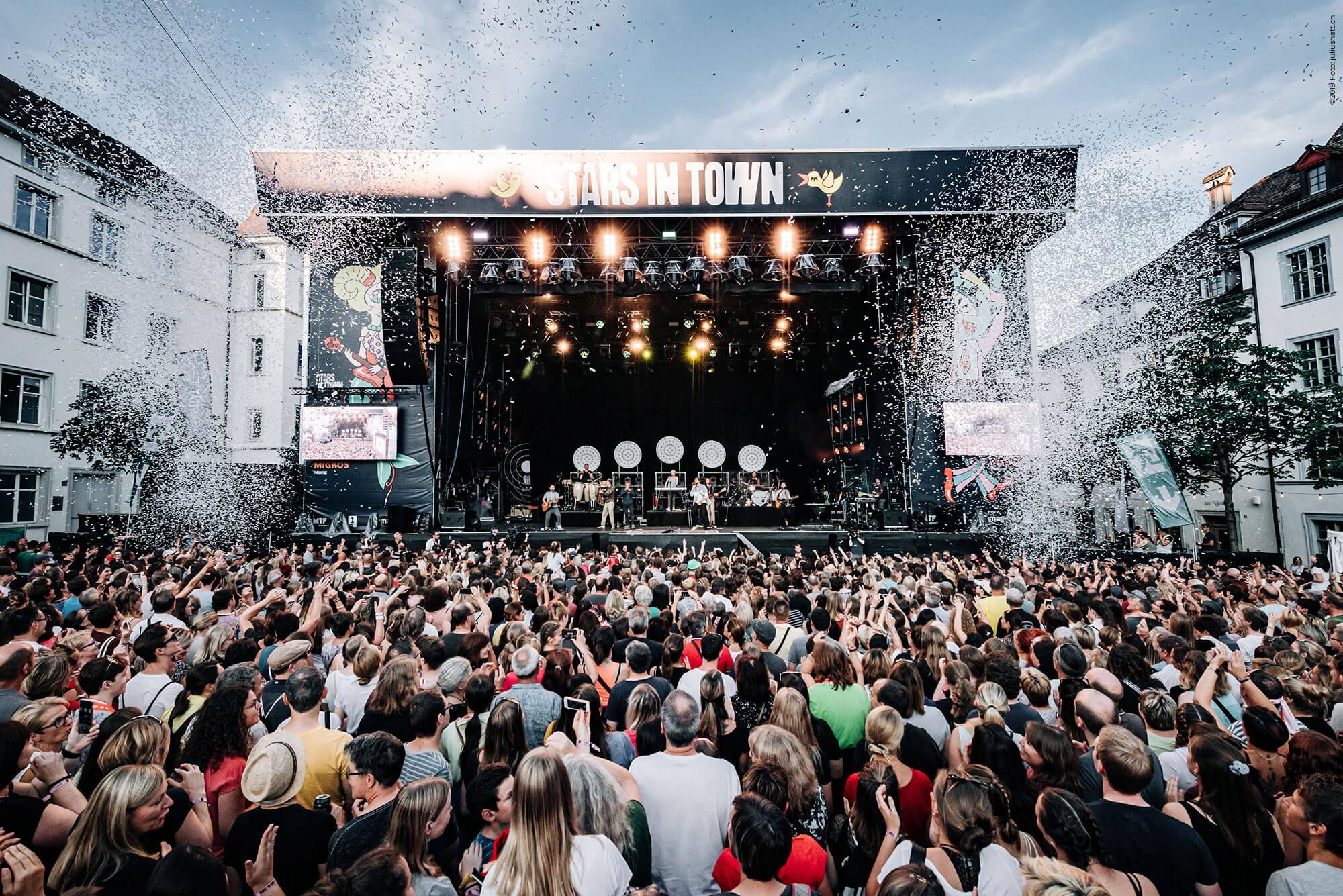Schaffhausen, Stars in Town, Festival, Branding