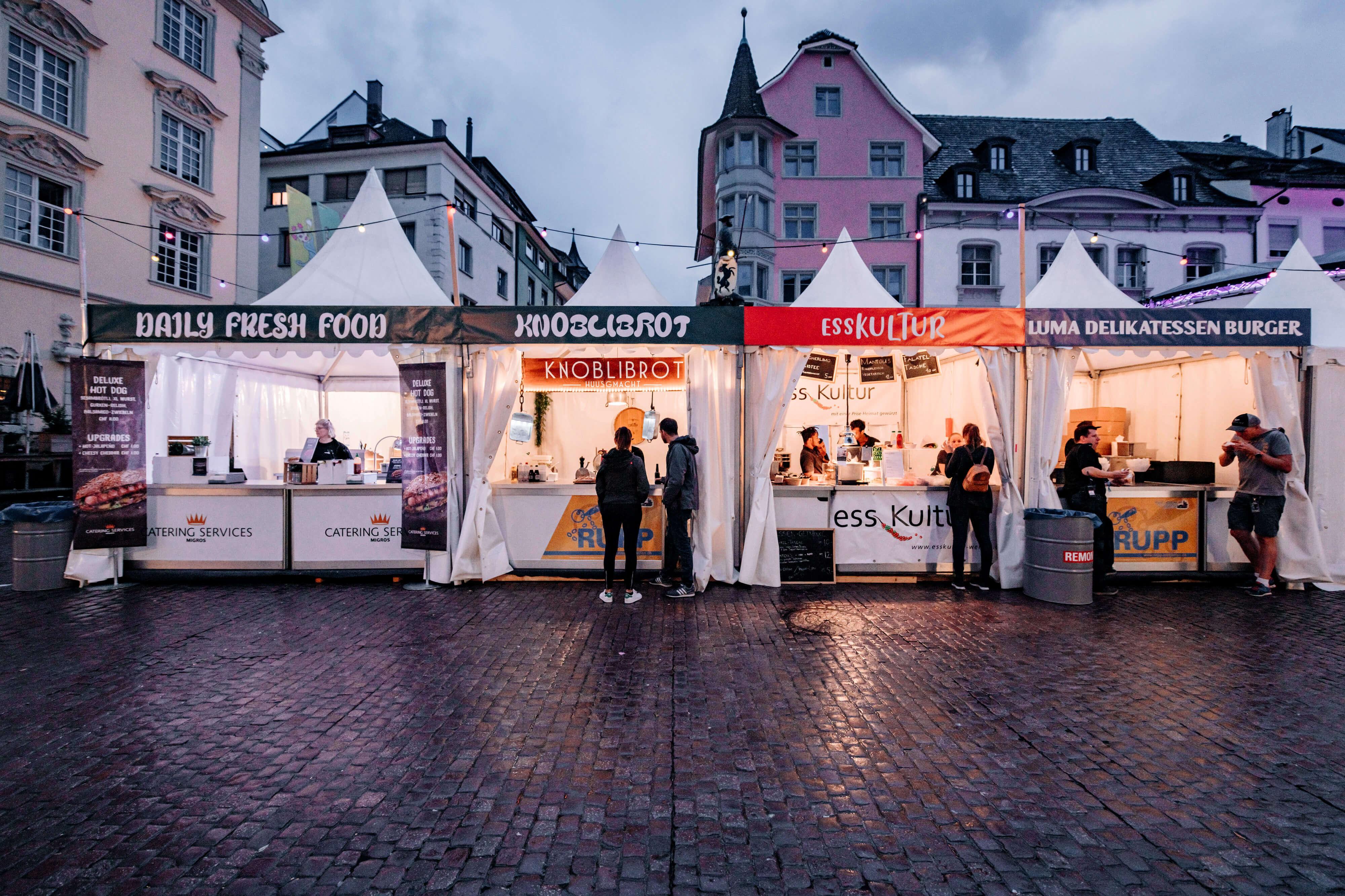 Schaffhausen, Stars in Town, Festival, Branding, Gastronomie