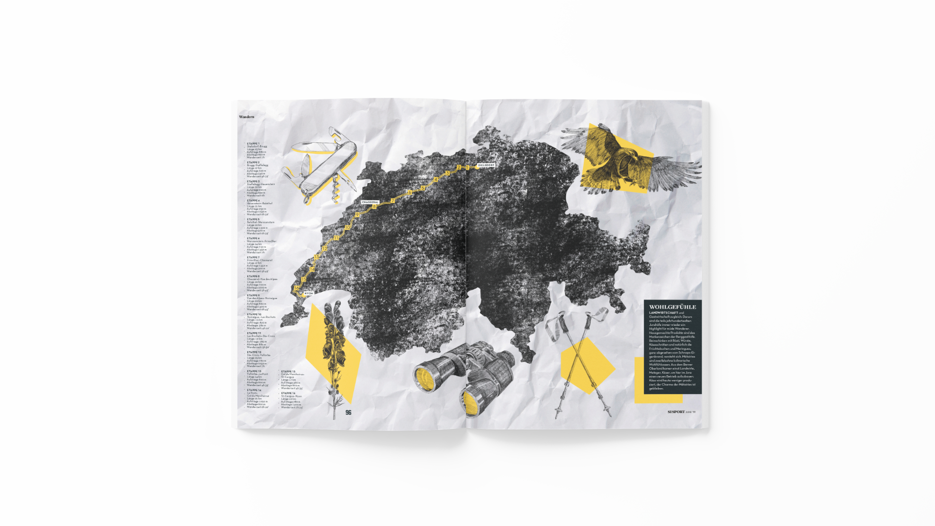Editorial Illustration, Format Studio, Schweiz