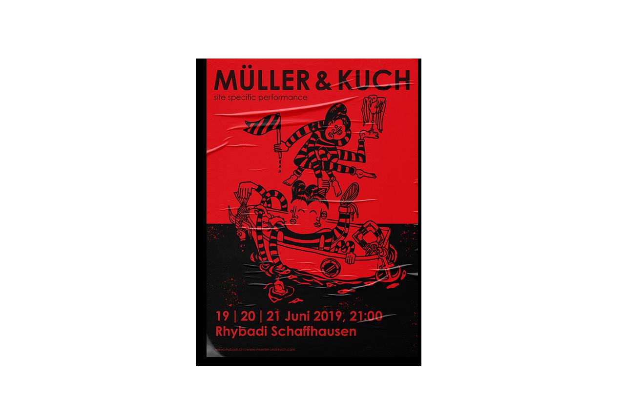 Illustration, Posterdesign, Schaffhausen, Schweiz, Theater