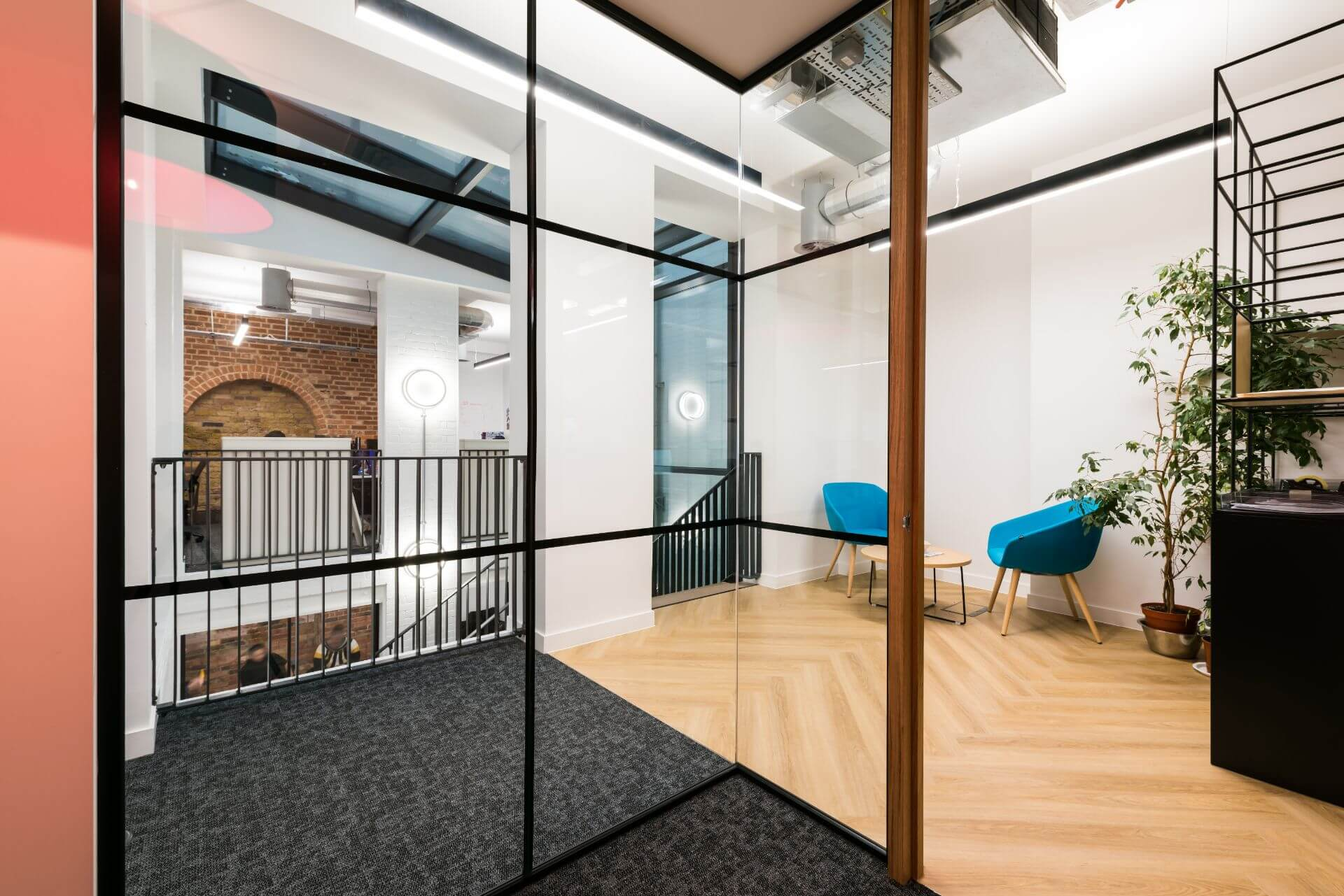 Affinity Workforce Hallway