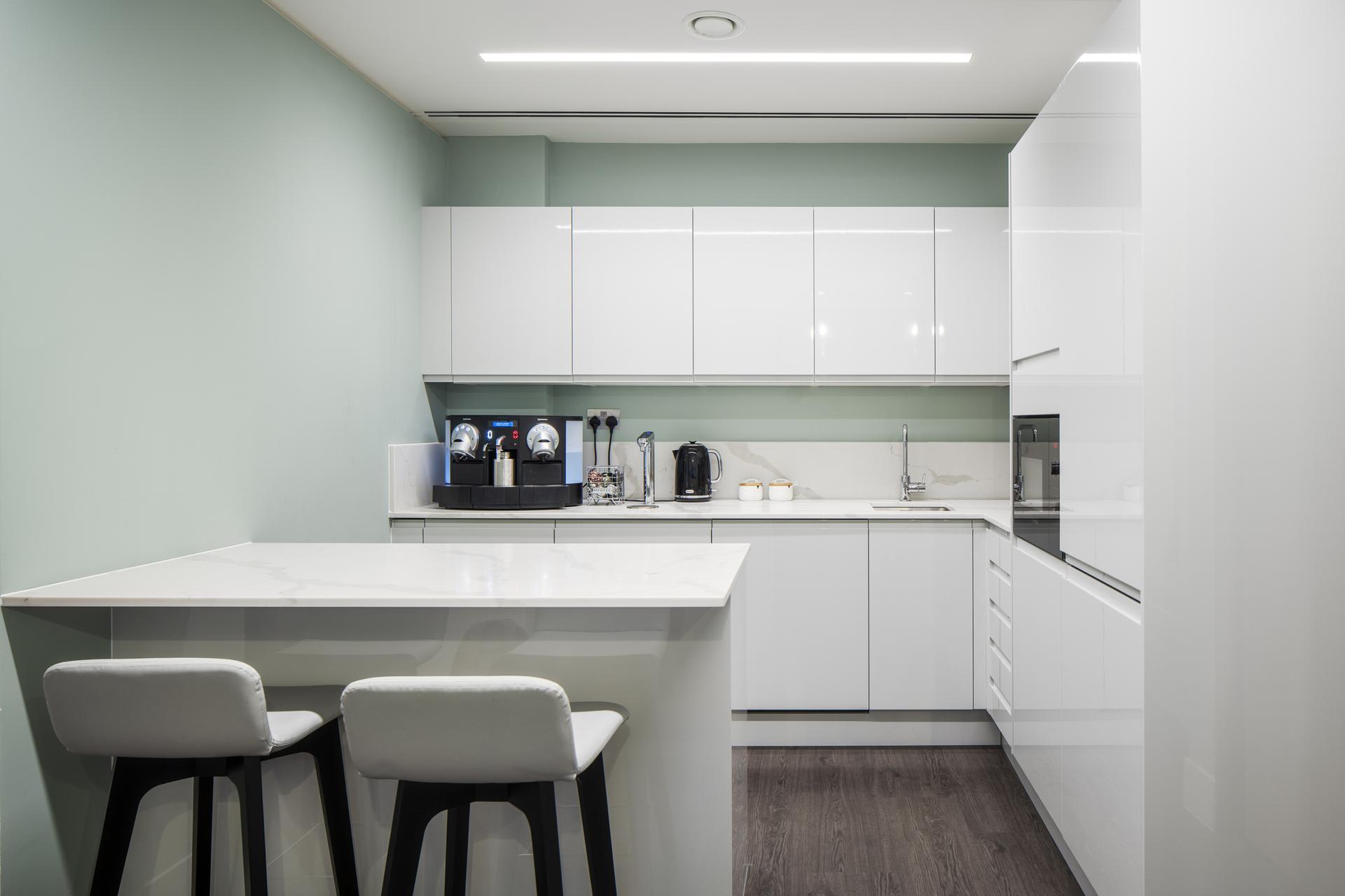 Chrystal Capital Office Kitchen