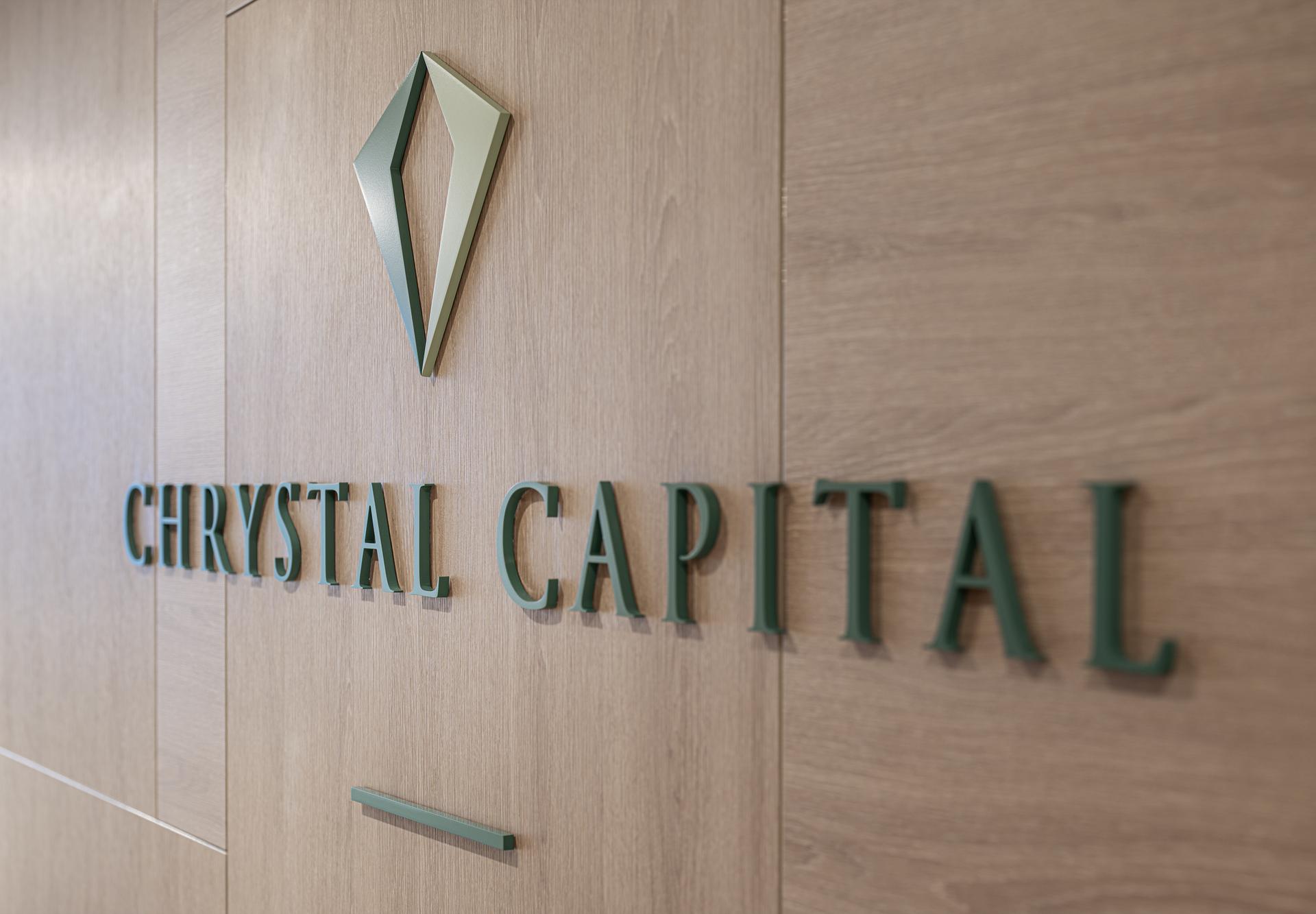 Chrystal Capital Sign