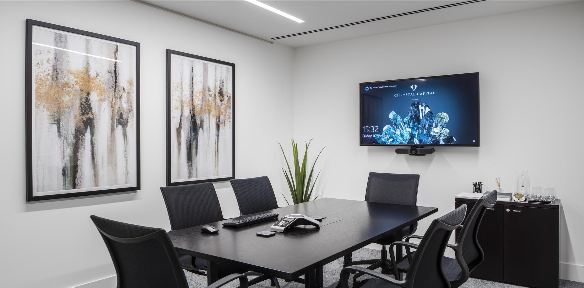 Chrystal Capital Meeting Room