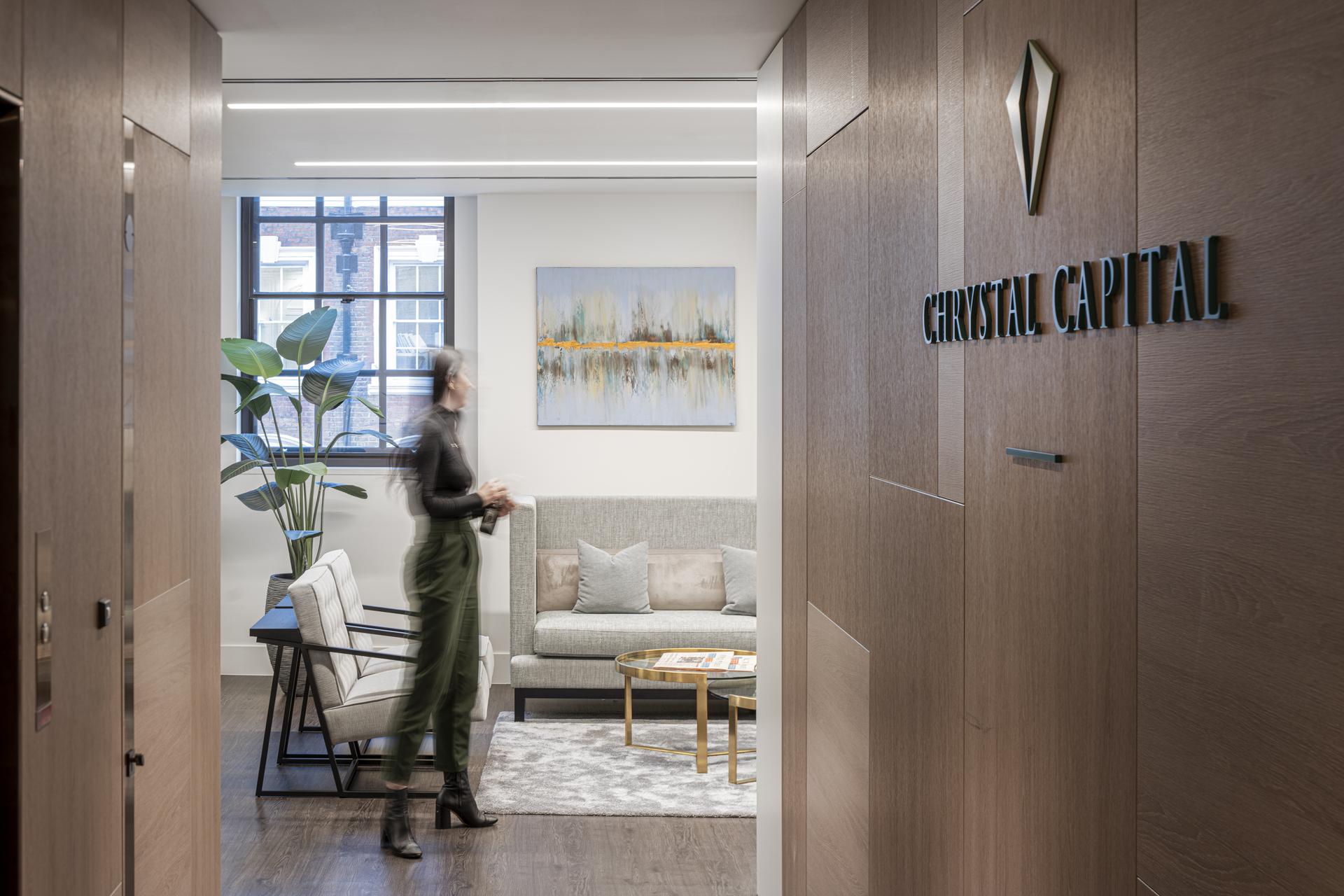 Chrystal Capital Hallway