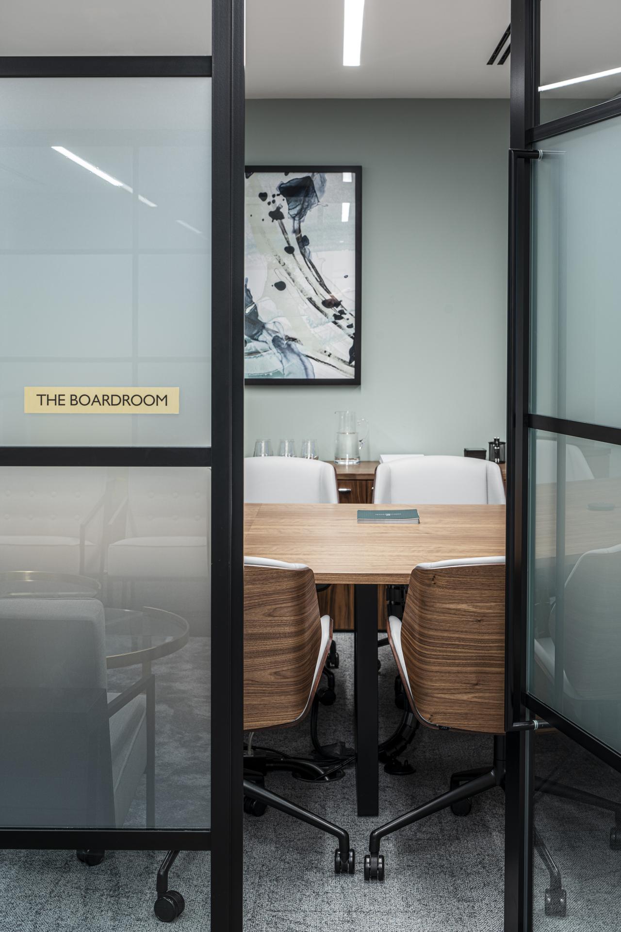 Chrystal Capital Boardroom