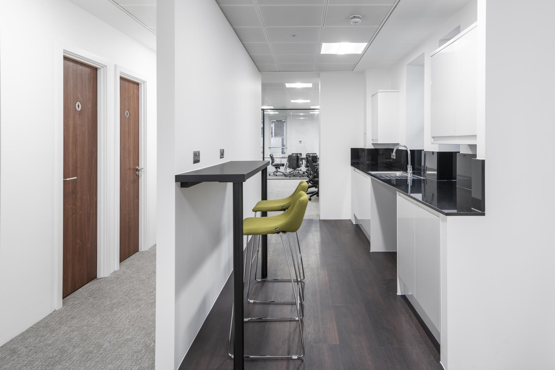 Jermyn Street Office Kitchen
