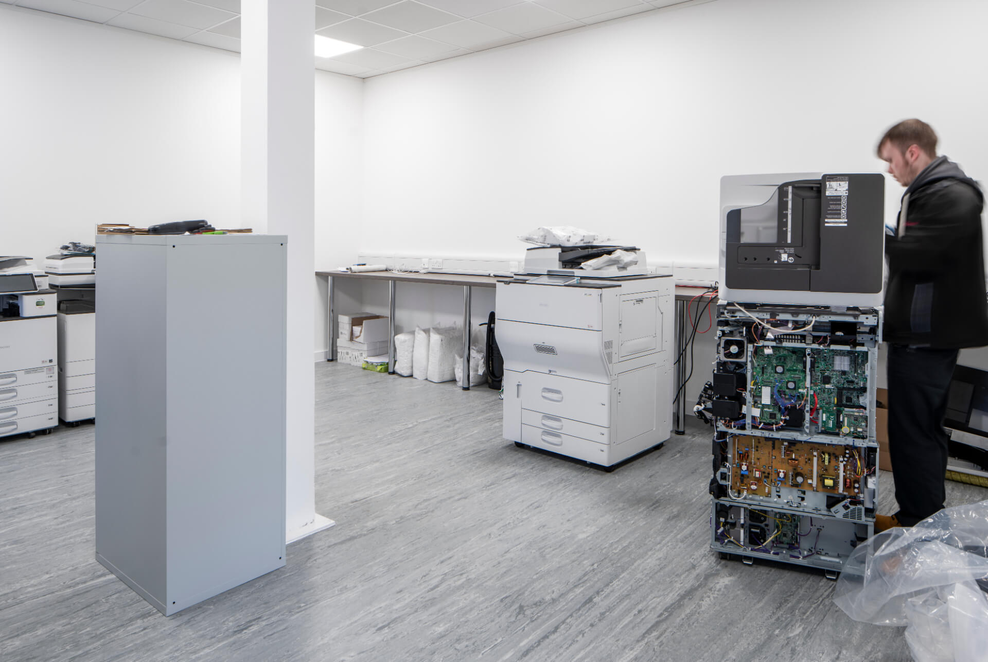 Dataquest Waltham Printing Room