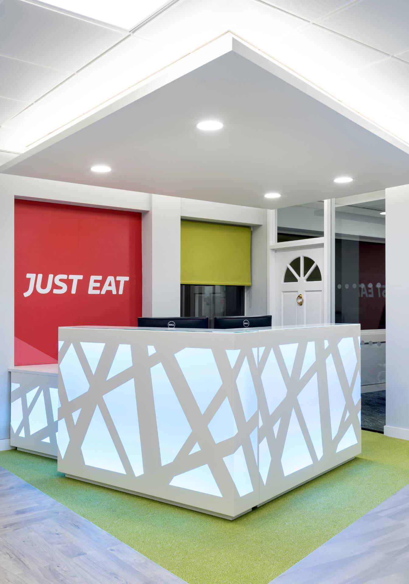 Just Eat Elstree Reception