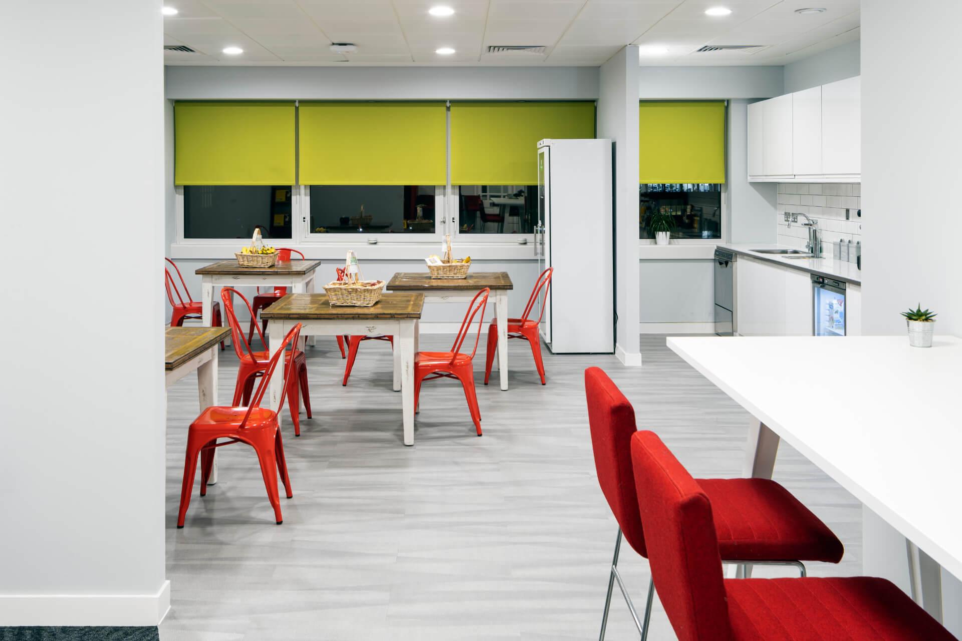 Just Eat Elstree Office Kitchen