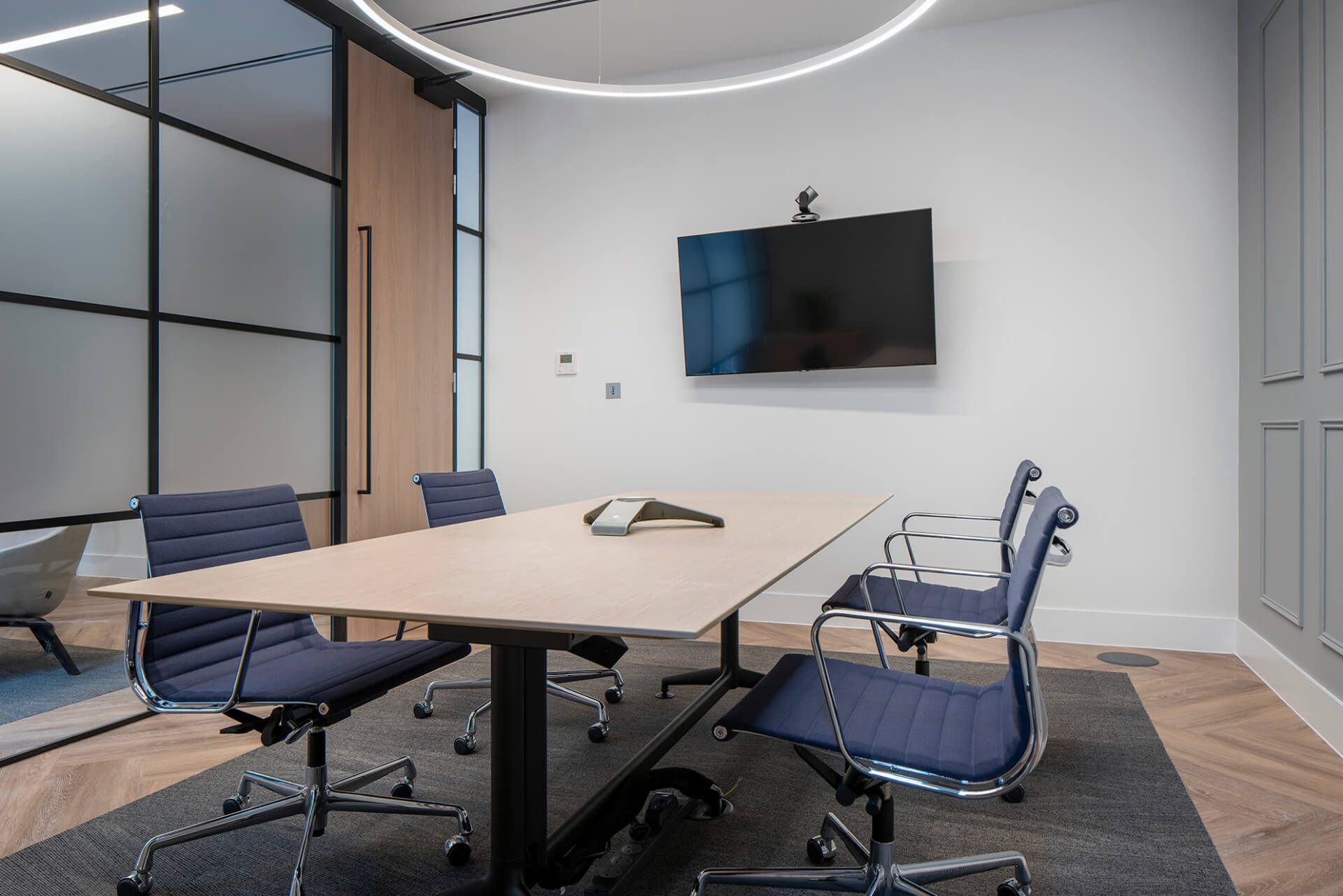Modern Mini Meeting Room