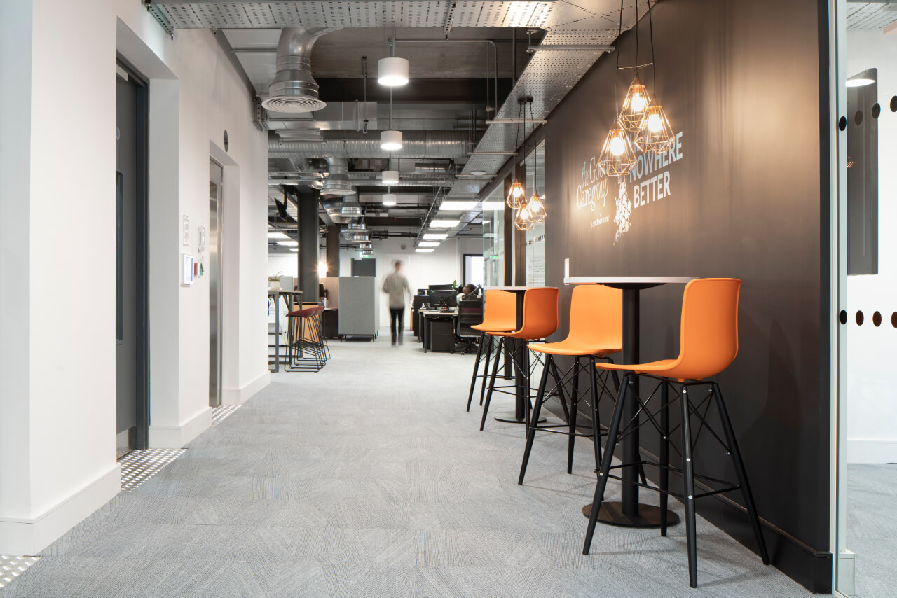The Good Care Group Hallway