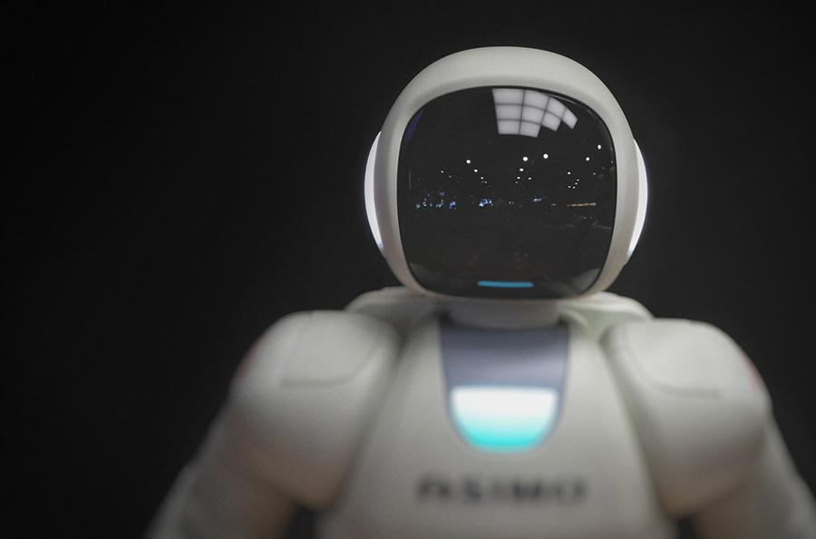 An AI robot