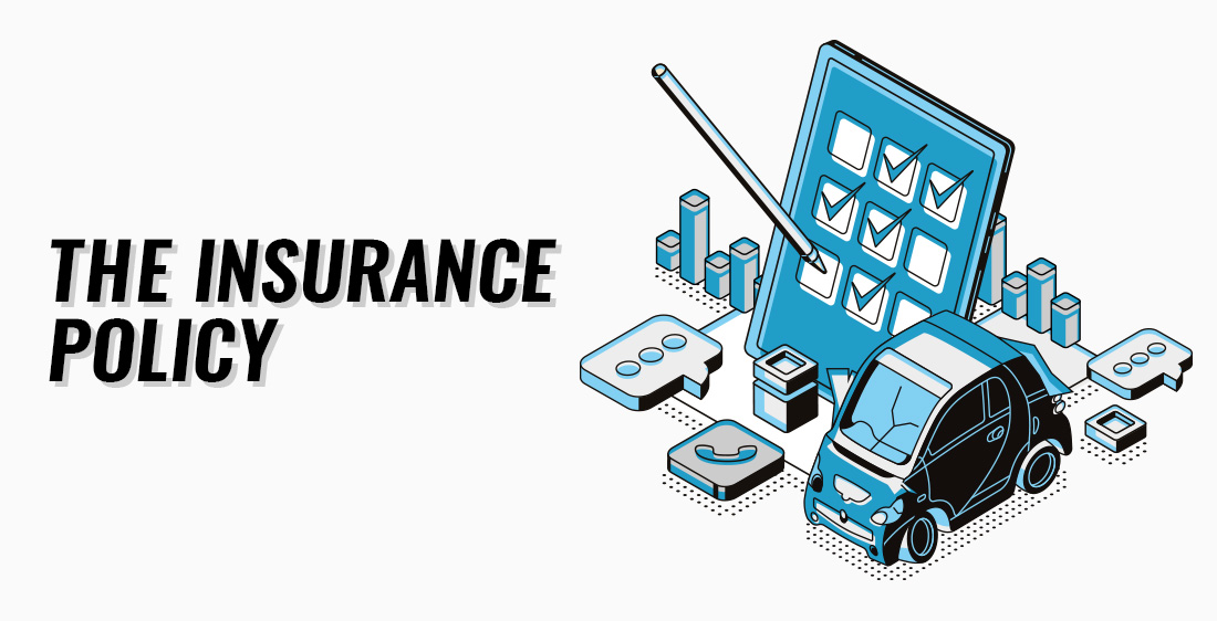 """""""The Insurance Policy"""" header illustration."""