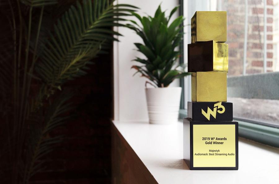 W3 Award Trophy