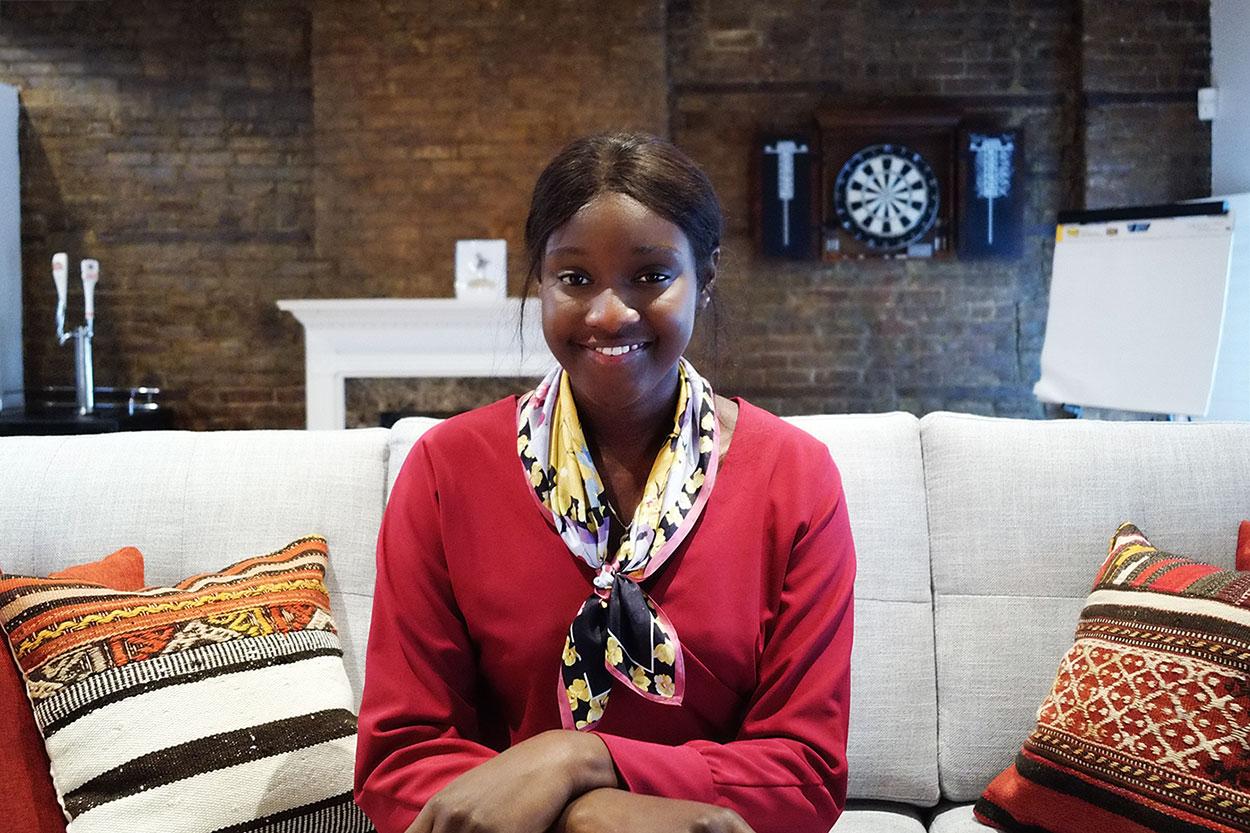 Maimouna MMbacke, Social Media & Marketing Intern