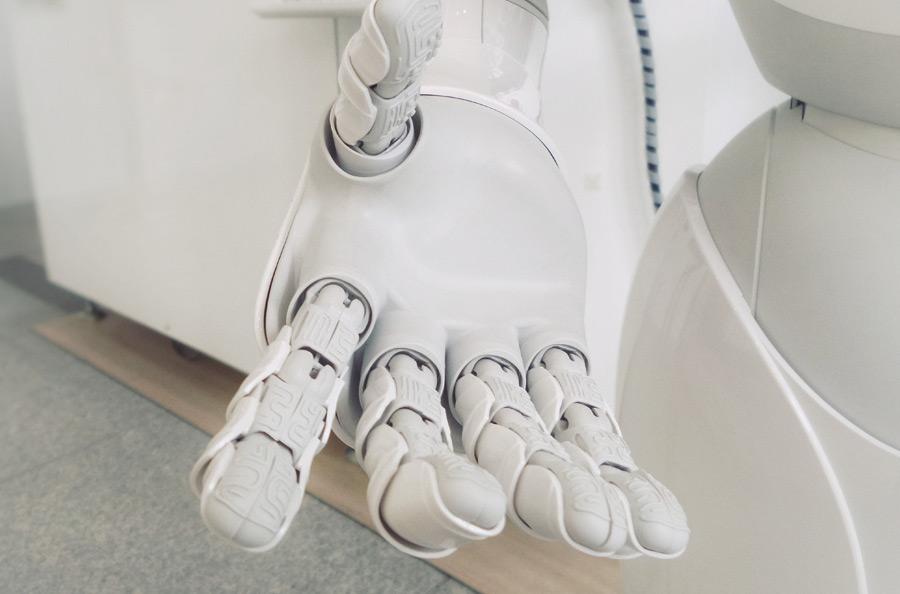 An AI robot hand