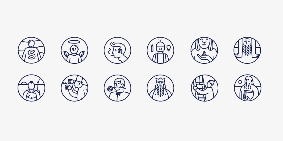 Illustration of the 12 Brand Archetypes