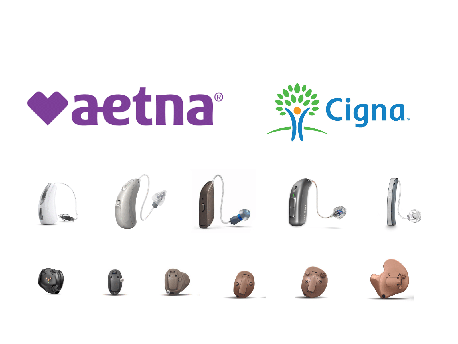 hearing aid prices for cigna aetna