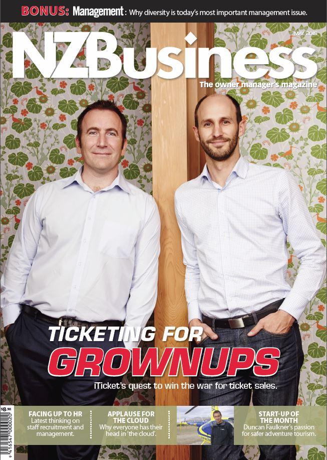 iTICKET headlines NZ Business magazine