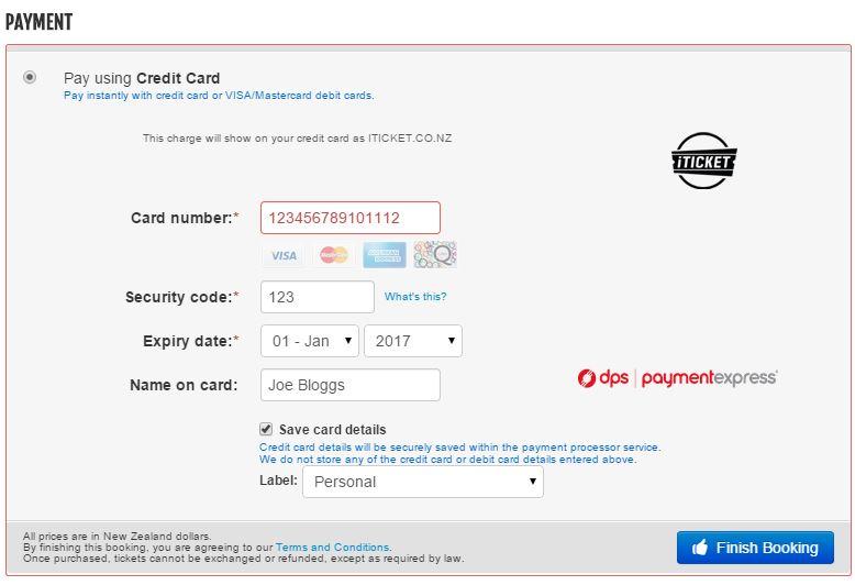 Credit card 2