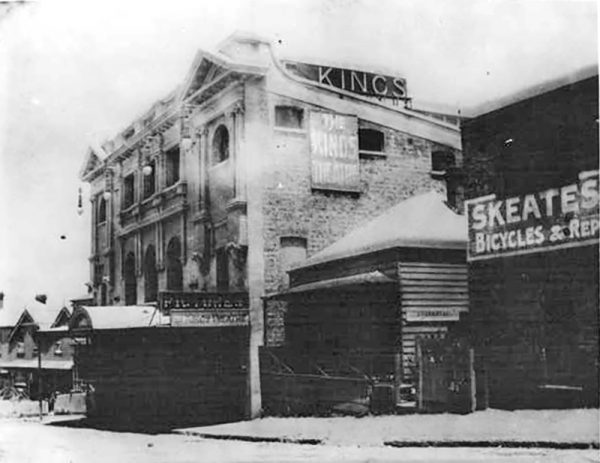 The Mercury Theatre in 1920, then called the Kings Theatre. Photo: Auckland War Memorial Museum collection.