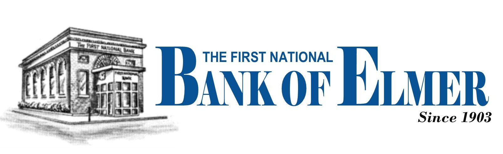 First National Bank of Elmer logo