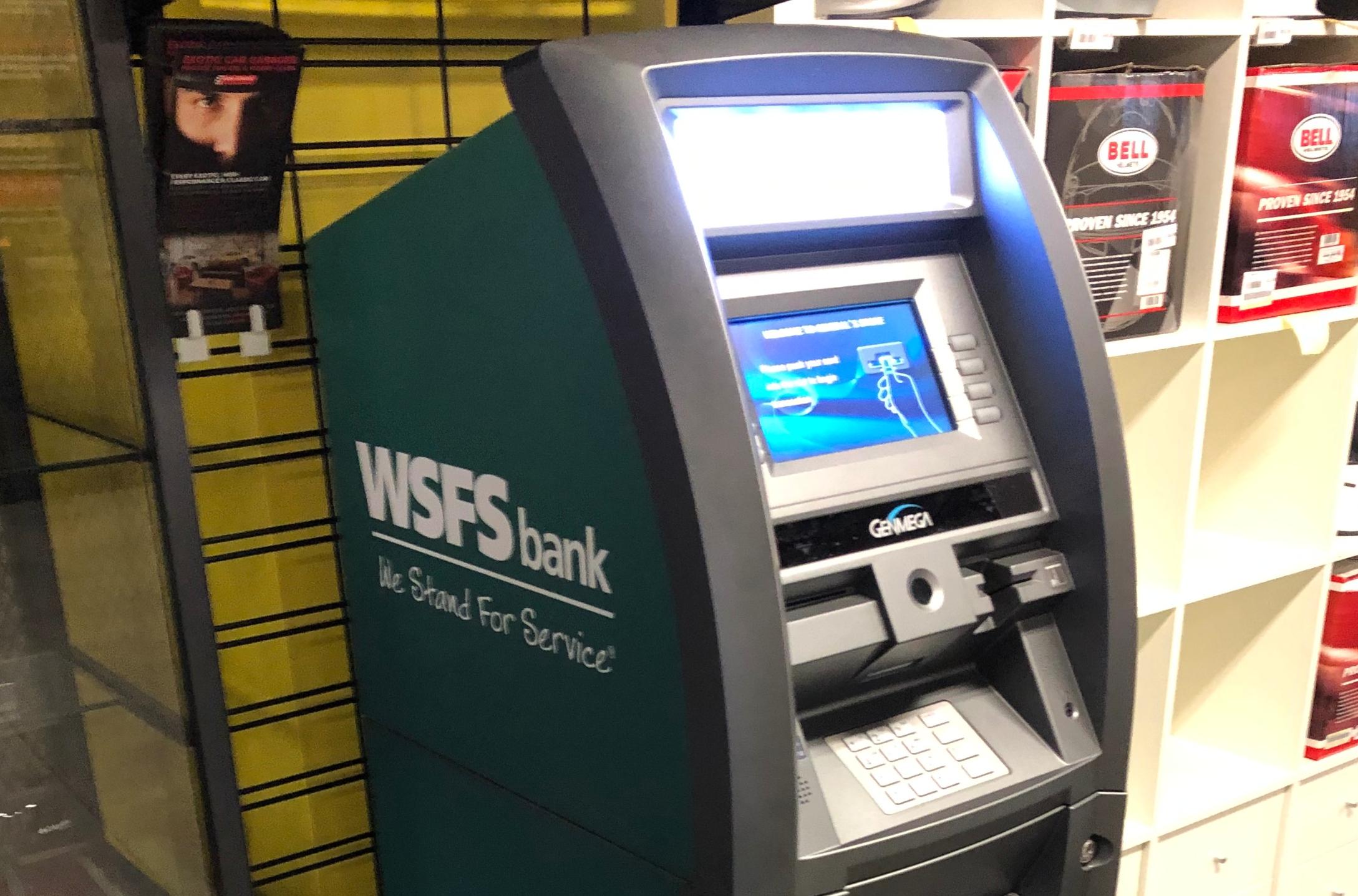 WSFS automatic teller machine
