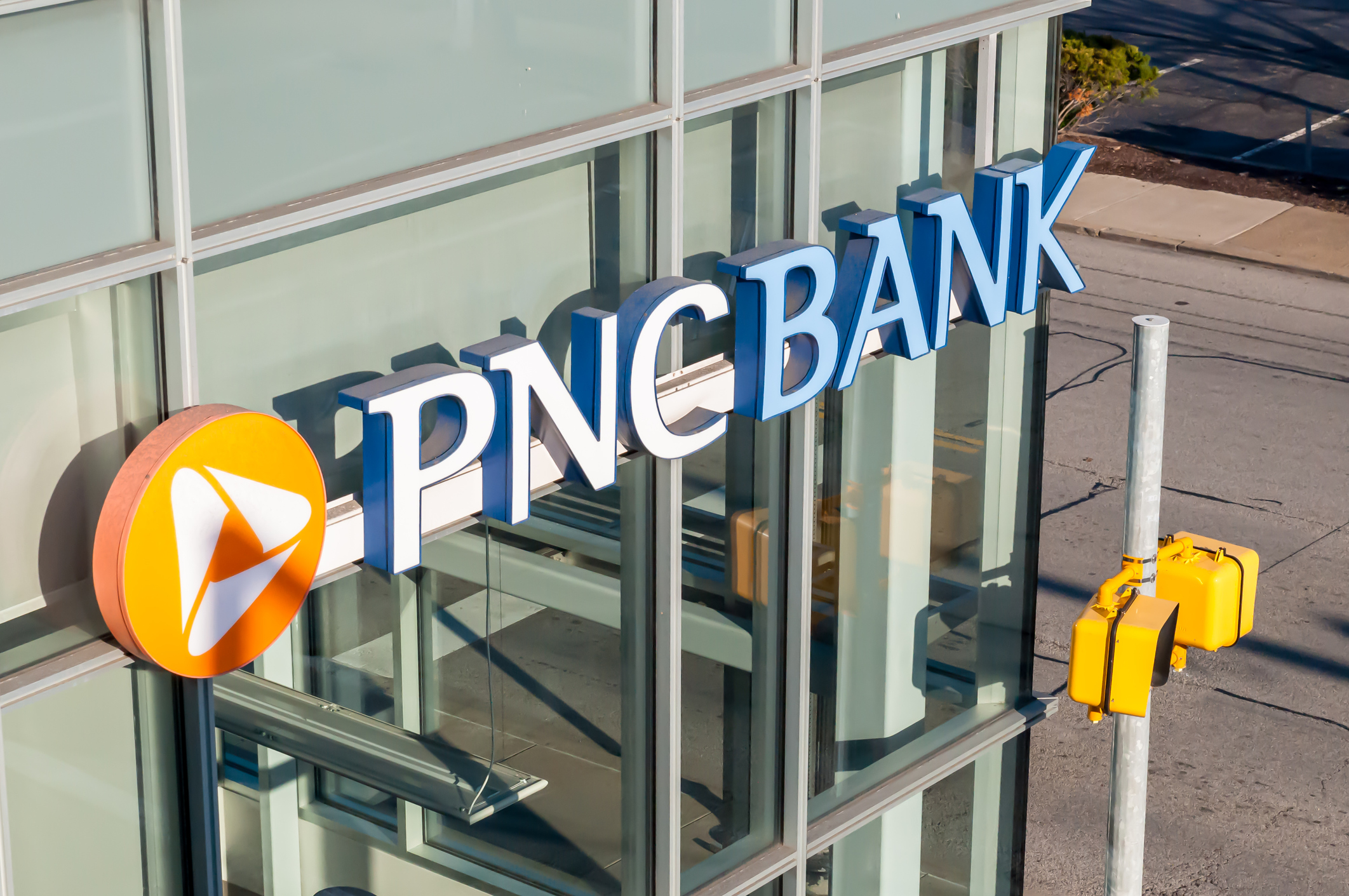 PNC Bank branch in Pittsburgh | iStock photo by Althom