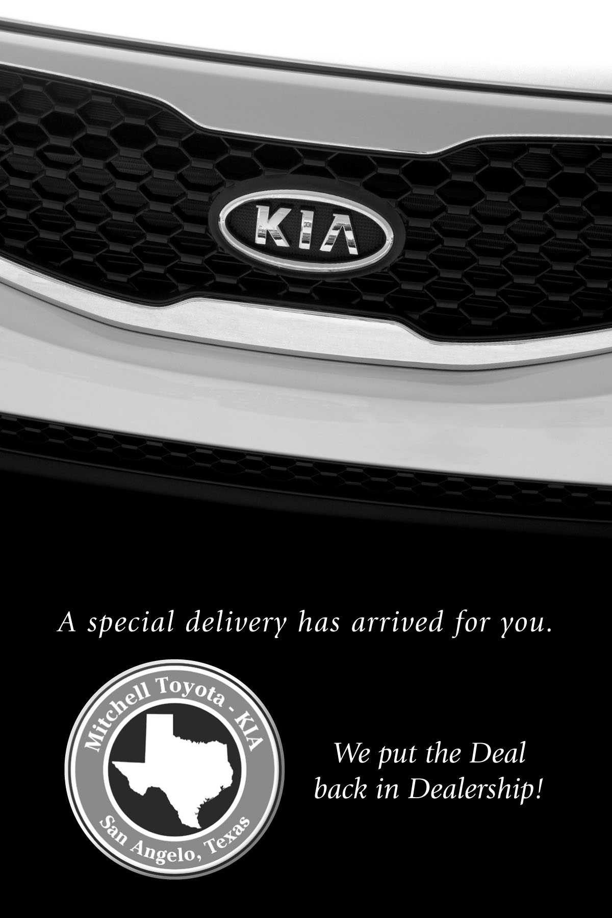 Special Delivery Kia