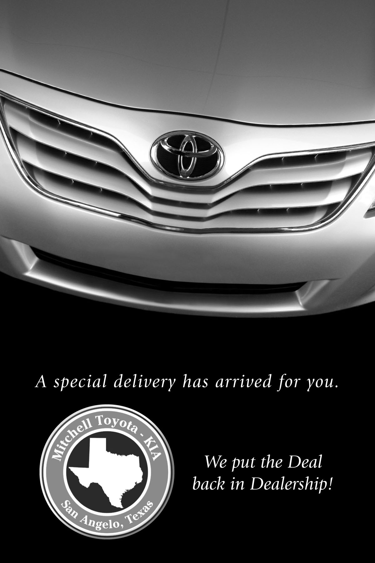 Special Delivery Toyota