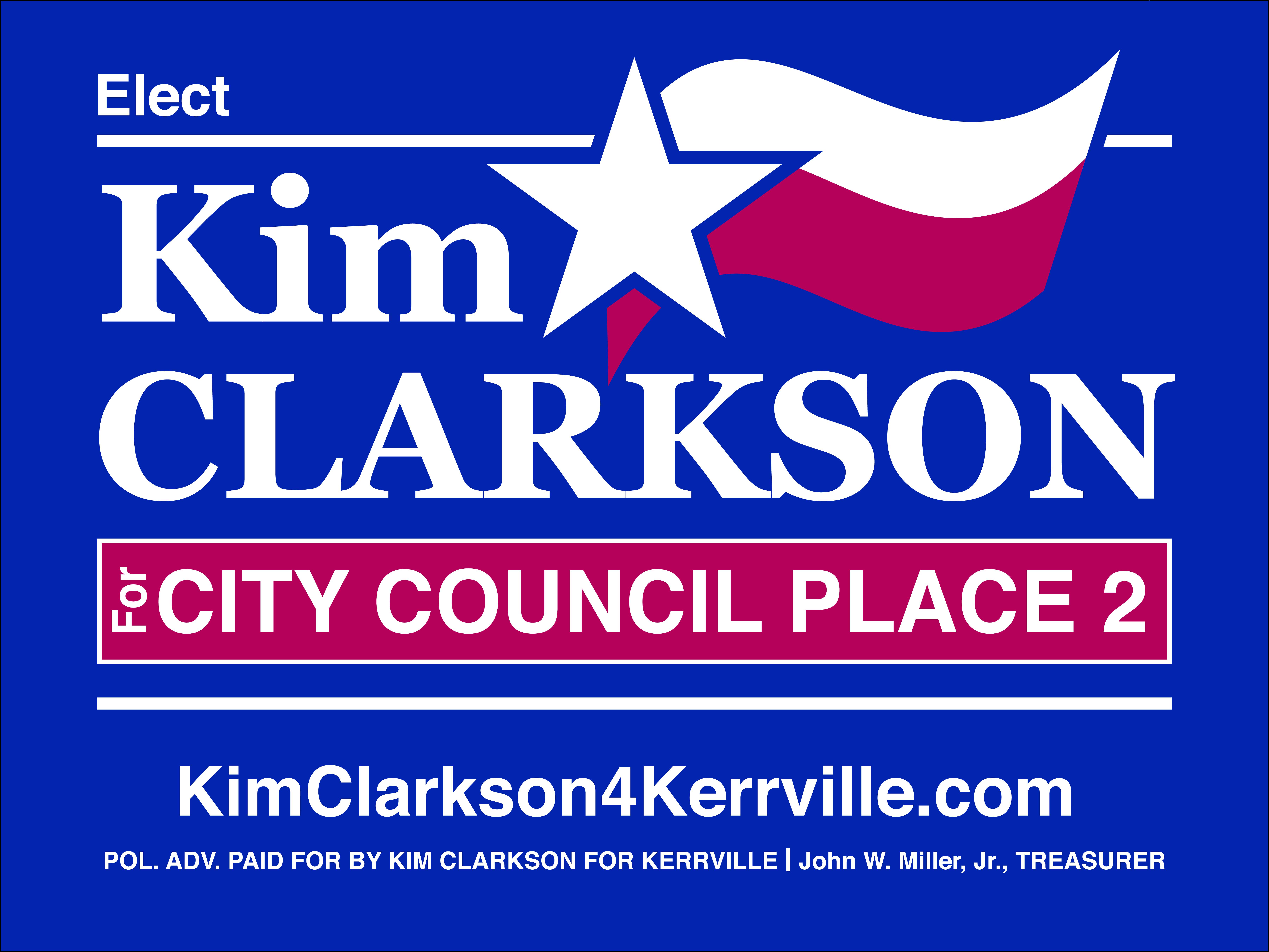 Kim Clarkson Campaign