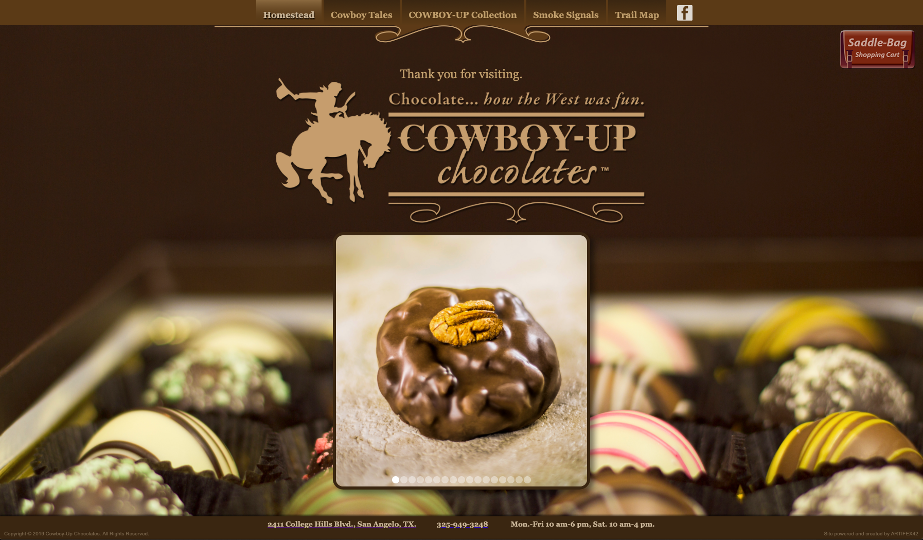 Cowboy-Up Chocolates