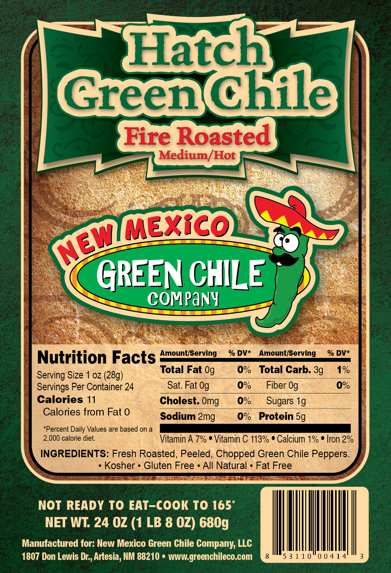Hatch Green Chile Package